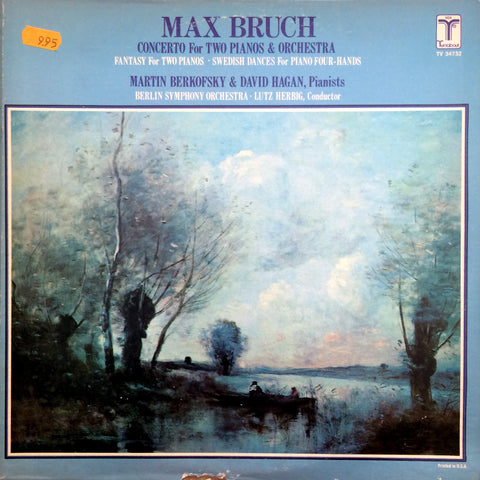 Max Bruch / Concerto for Two Pianos & Orchestra, LP
