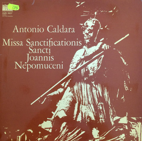 Antonio Caldara / Missa Sanctificationis Sancti Joannis Nepomuceni, LP