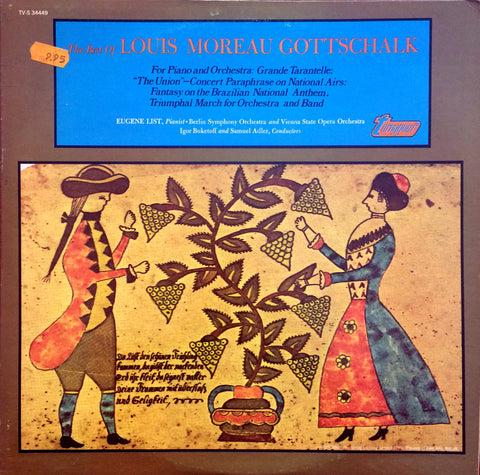 Louis Moreau Gottschalk / The Best of Louis Moreau Gottschalk, LP