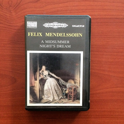 Felix Mendelssohn / A Midsummer Hight's Dream, Kaset
