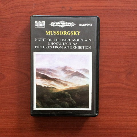 Mussorgsky / Night on the Bare Mountain, Kaset
