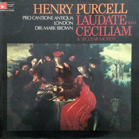 Henry Purcell / Laudette Cecilliam, LP