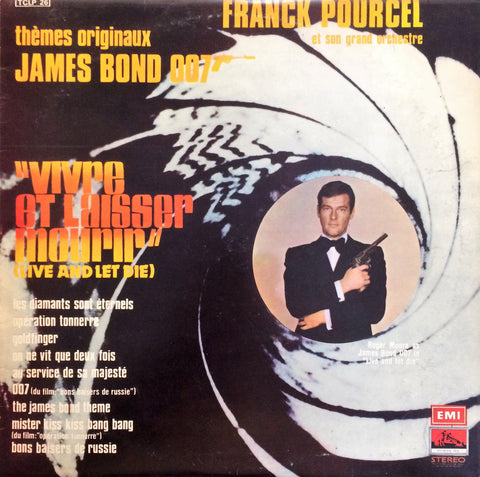 Franck Pourcel / Themes Originaux James Bond 007, LP