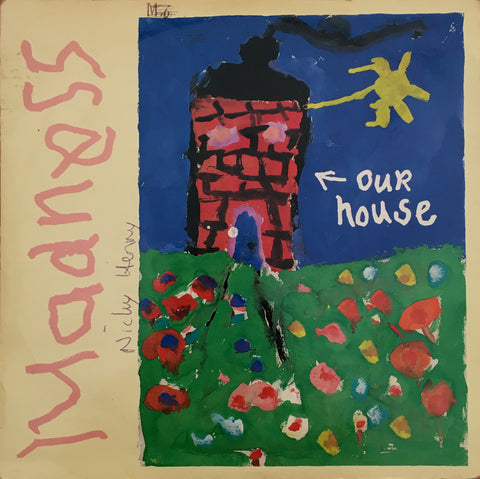 Madness, Our House / Walking With Mr Wheeze, 45'lik