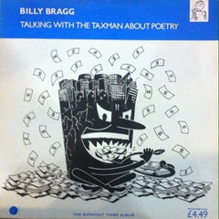 Billy Bragg / Talking With the Taxman About Poetry, LP