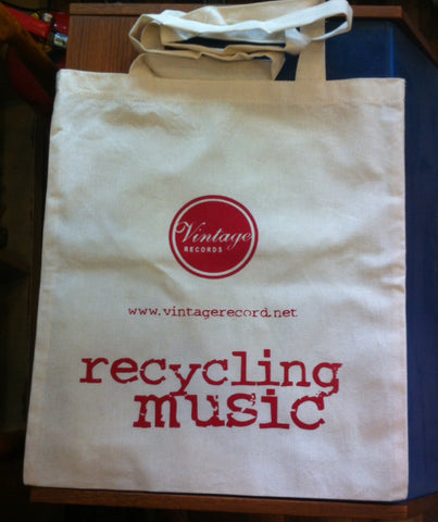 "Vintage Records ""Recycling Music"", Çanta"