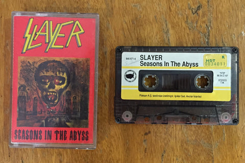 Slayer / Seasons in the Abyss, Kaset
