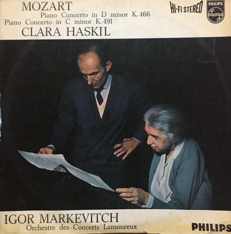 Mozart / Piano Concerto in D Minor, 835 075 AY, LP
