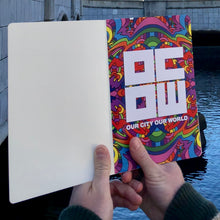 Load image into Gallery viewer, OCOW Pop Art Journal Book designed by Howie Green