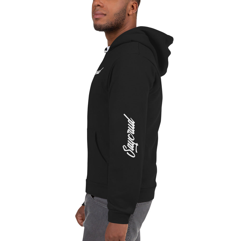 [SAYCRUD] ARM PRINT ZIP-UP Hoodie