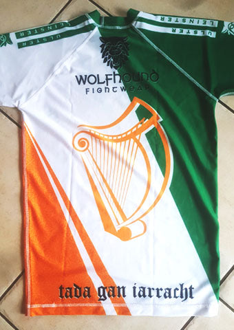 Team Ireland BJJ & MMA Short Sleeve Rashguards