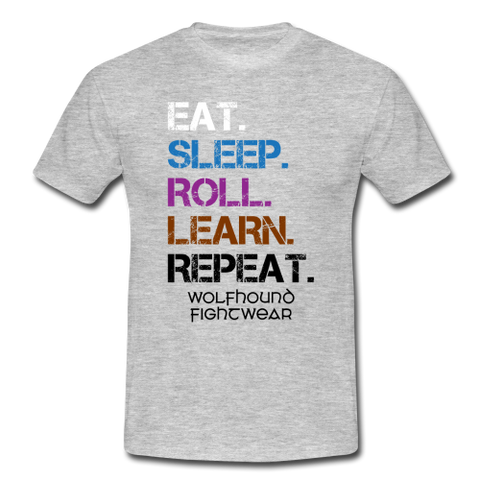 Eat, Sleep, Roll, Learn, Repeat T-Shirt