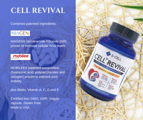 Product Photo - Cell Revival - S-Cell Health & Beauty Supplements