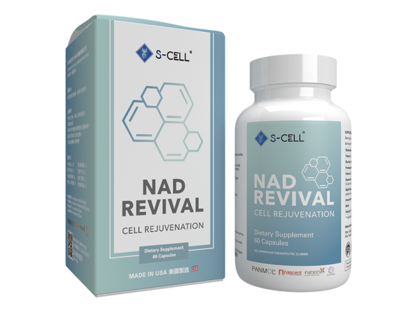 NAD REVIVAL - S-CELL Health & Beauty