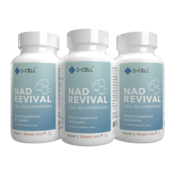 NAD REVIVAL (3-Month Pack) - S-CELL Health & Beauty