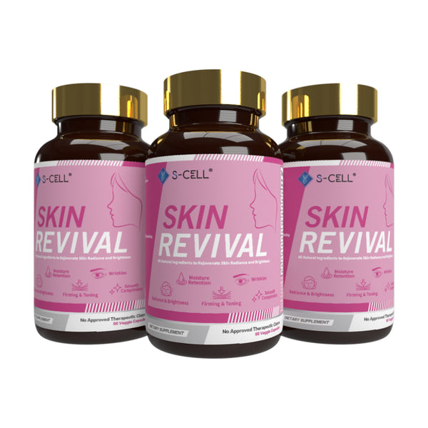 SKIN REVIVAL (3-Month Pack) - S-CELL Health & Beauty