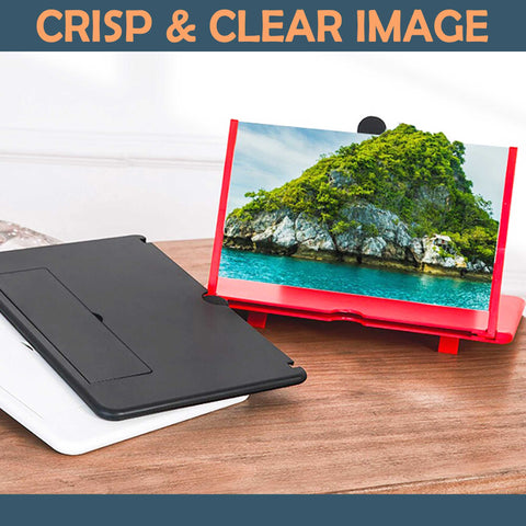 Foldable Mobile Screen Magnifier