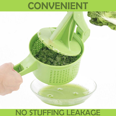 Vegetables Press-And-Dry Squeezer