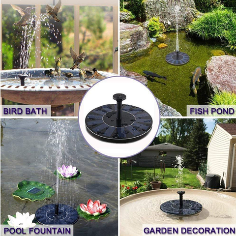 Floating Solar Fountains