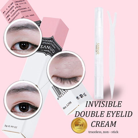 Invisible Double Eyelid Cream – blossomthing com