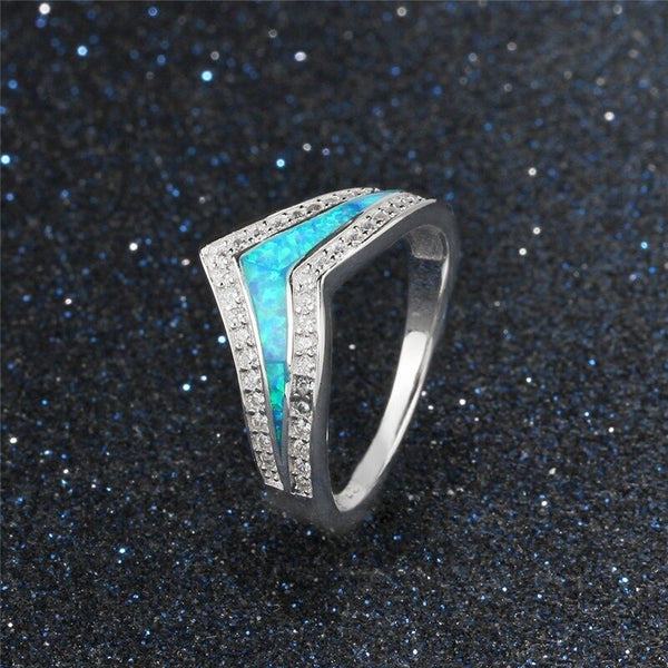 Opal Silver Ring - MR52
