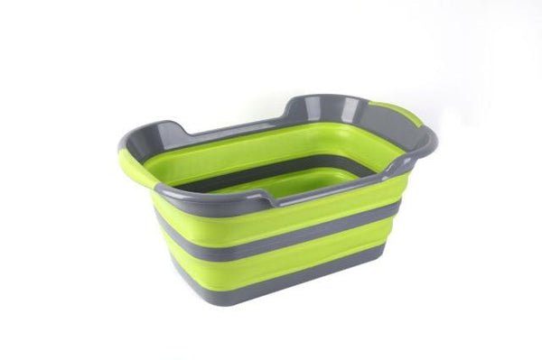 Folding Baby Shower Bathtub Portable Silicone Pet Dog Bath Tubs Accessories Collapsible Laundry Storage Basket Safety Security