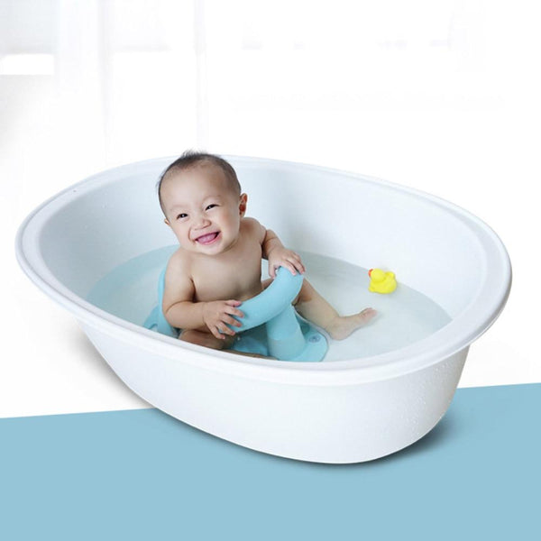 Tub Seat Baby Bathtub Pad Mat Chair Safety Security Anti Slip Baby Care Children Bathing Seat Washing Toys Four Color