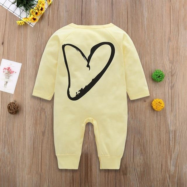 2018 New Newborn Baby Boys Girls Romper Animal Printed Long Sleeve Winter Cotton Romper Kid Jumpsuit Playsuit Outfits Clothing