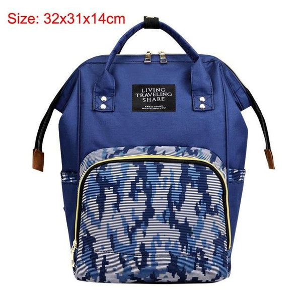 41color Mummy Backpack Zipper Large Capacity Travel Maternity Bag Diaper Baby Bag Multifunctional Nursing Bag Backpack Baby Care