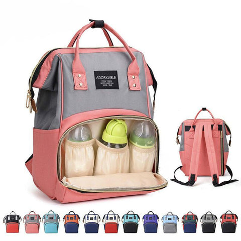 High Quality Large Capacity Diaper Bag Multifunction Baby Sleeping Bags Maternity Package Mother Travel Backpacks Maternity Cute
