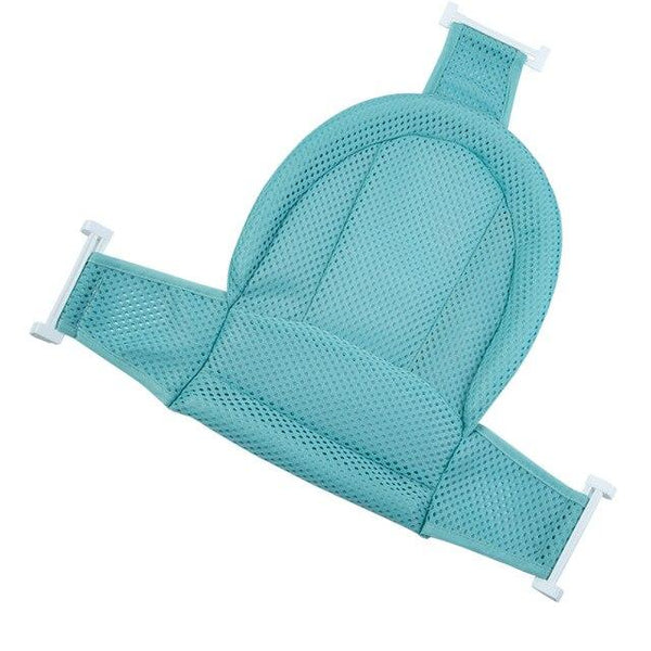 Baby Shower Portable Air Cushion Bed Bathtub Mat NewBorn Safety Security Bath Seat Support Baby shower net