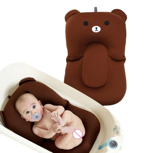 Ship From RU Cartoon Baby Bath Mat Soft Non-slip Bathing Cushion Bathtub Shower Bed for Toddlers Infant @JLRH