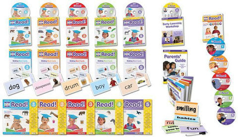 Levels 1 to 10 - Your Baby/Child Can Read! Deluxe Kit