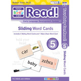 YBCR Sliding Word Card Sets