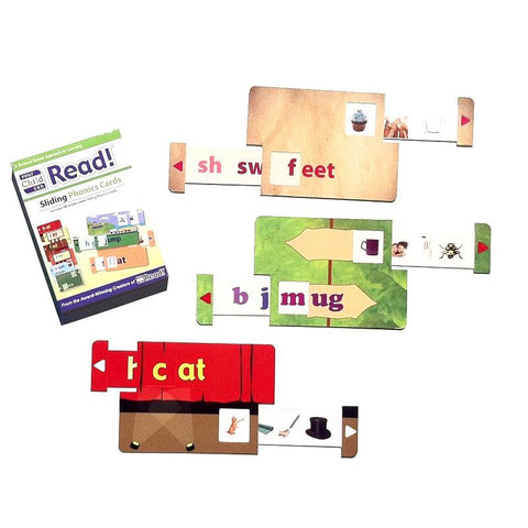 YCCR Sliding Phonics Cards Set