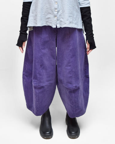 MOTION Corduroy Bubble Pants - Lavender Purple