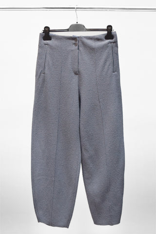 Elemente Clemente Boiled Wool Trousers - Grey