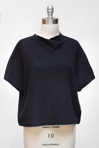 Elemente Clemente Boiled Wool Topper - Black