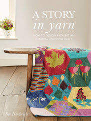 A Story in Yarn, How to Design & Knit an Intarsia Heirloom Quilt