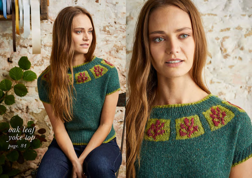 Colourwork Knits 12 Hand Knit Designs Inspired By Nature Dee