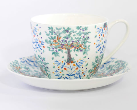 Hare & Pimpernel Cup & Saucer