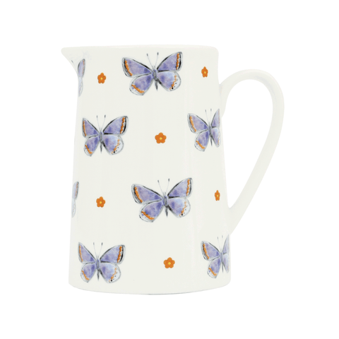 Common Blue 11cm Milk Jug
