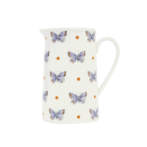 Common Blue 14cm Milk Jug