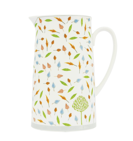 Cherry Tree & Leaves 18cm Pitcher