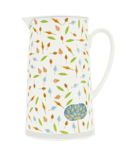 Oak Tree & Leaves 18cm Pitcher
