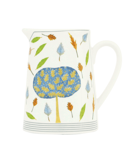 Oak Tree & Leaves 8cm Creamer Jug