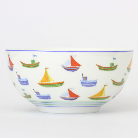 Seaside Boats Breakfast Bowl