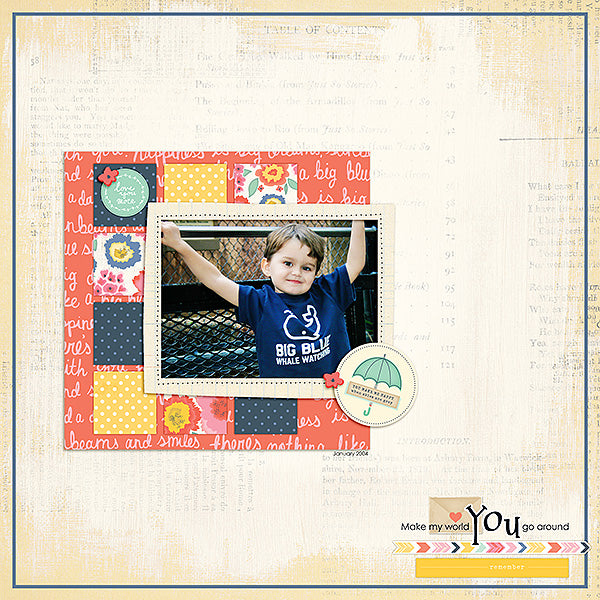 Layout by Creative Team Member Kelly Mobley