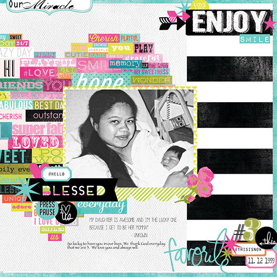 Layout by Maridette