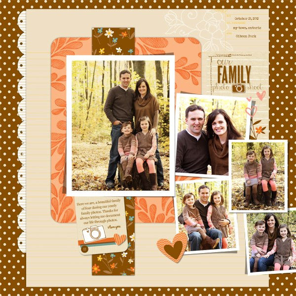 Layout by Creative Team Member Sheri Horton
